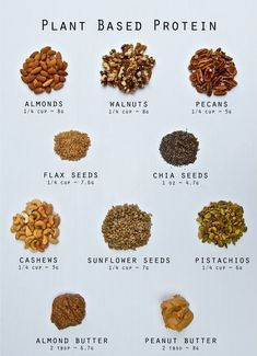 plants Do you know protein vegans eat? Looking for plant based protein options?Do you know protein vegans eat? Looking for plant based protein options? Plant Based Eating, Plant Based Diet, Plant Based Recipes, Raw Food Recipes, Healthy Recipes, Plant Based Meals, Plant Based Snacks, Vegan Recipes List, Vegan Food List