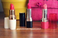 Pembe'nin en güzel tonunda ruj isteyenler için Avon'dan Ultra Colour ruj deneyimim #avon #avonrep #ruj #lipbalm