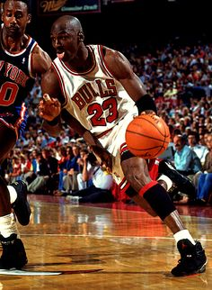 Blackman Can't Keep Up With Mike, '93 East Finals.