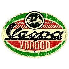 VESPA STICKER RACE RETRO SURF VW STICKER OLD SCHOOL VINTAGE