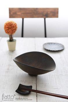 銅彩釉ひずみ鉢(小)/作家「水野幸一」/和食器通販セレクトショップ「flatto」