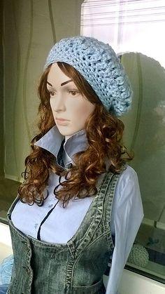 REJAdekor / NEBESKÁ modrá baretka