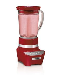 Hamilton Beach 53206 Wave Maker 2 Speed Blender, Red 700-watt peak power. Perfect for blending, pureeing & chopping. Stainless steel ice sabre blades. 2 speeds plus pulse. Easy to clean touchpad.  #HamiltonBeach #Kitchen