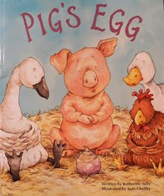 If you are teaching about oviparous animals or life cycles, you will want to find a copy of Pig's Egg to read to your students.
