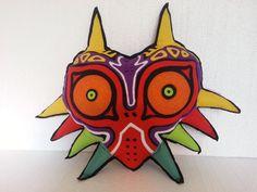 Handmade Legend of Zelda Majora's Mask Pillow by RbitencourtUSA, $49.95