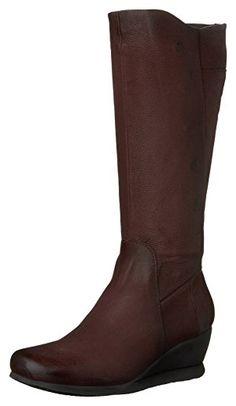 Damen Stiefel Overknee Stiefel Boots Leder Optik Klassische
