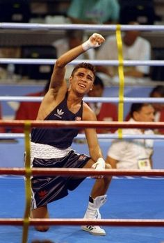 Past Olympians: Where are they now? Olympic Boxing, Mma Boxing, Olympic Games, Kickboxing, Muay Thai, Jiu Jitsu, 1992 Olympics, The Golden Boy, Sport Icon
