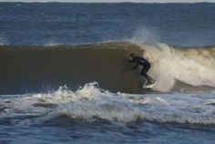 Grudniowy surfing na Bałtyku