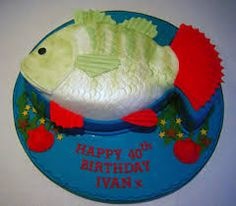 fishing themed cakes - Google Search
