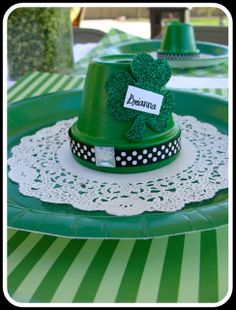 Marci Coombs: St. Patricks Day ideas.