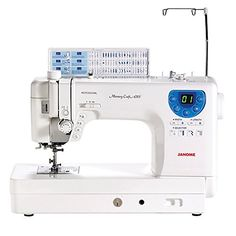 Janome MC6300P Professional HeavyDuty Computerized Quilting Sewing Machine w Extension Table Walking Foot Darning Foot and More -- To view further for this item, visit the image link.