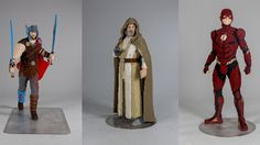 Luke Skywalker, Thor and the Flash will be ready to meet the crowds at the Lego booth this year.    Fans looking for a glimpse of the future of their favorite heroes might want to head to the Lego booth at San Diego Comic-Con. Life-size Lego versions of Thor: Ragnarok's leading man,... #Brings #Builds #ComicCon #DC #Lego #LifeSize #Marvel #Star #Wars