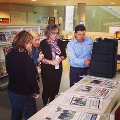 Avui fent proves de so abans d'obrir i ara plou  #bonatarda #bibliotequescat #quèfemalesbiblios #sombiblioteca