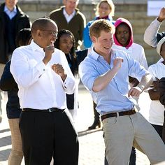prince harry having fun, England