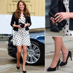 Kate Middleton Pregnant Fashion - She wears Topshop!