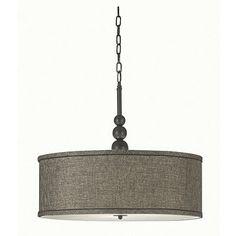 Kenroy Margot 3-Light Pendant Lamp