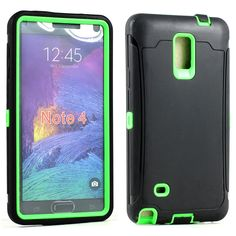 Samsung Galaxy Note 4 Armor Defender Case with Screen