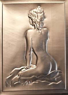 Sbalzo su alluminio delle lattine delle bibite Disegno di Manara
