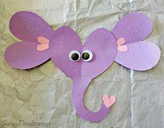 Elefante de corazón