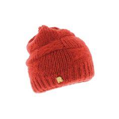 Bonnet Rmoutain Tricot Uni Rouge