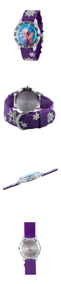 Other Childrens Jewelry 84608: Girls Disney Frozen 3D Anna, Elsa Plastic Strap Funtime Watch -> BUY IT NOW ONLY: $49.95 on eBay!