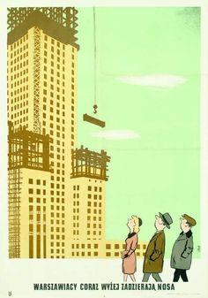 Poland History, Communist Propaganda, Scary Funny, Art Deco Posters, Art Deco Period, Vanitas, Movie Posters, Retro Posters, Culture