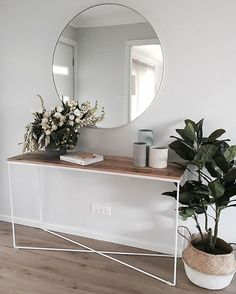 Top Diy Ideas: Warm Minimalist Home Office Spaces rustic minimalist home bathroom sinks.Minimalist Home Entrance Entryway minimalist interior style floors.Simple Minimalist Home Gray. Hallway Decorating, Interior Decorating, Decorating Ideas, Decorating Websites, Modern Condo Decorating, Living Room Decor, Living Spaces, Living Rooms, Decoration Inspiration