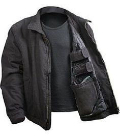 Now available at our store: 3 Season Concealed Carry Jacket- Black Check it out here! 3 Season Concealed Carry Jacket- Black