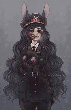 Blood and Creepy anime girl Arte Horror, Horror Art, Creepy Drawings, Creepy Art, Art Drawings, Character Inspiration, Character Art, Character Design, Anime Negra