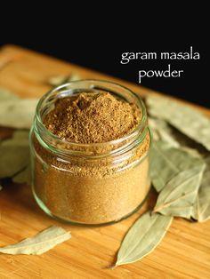 garam masala recipe | garam masala powder | homemade garam masala - http://hebbarskitchen.com/homemade-garam-masala-powder-recipe/