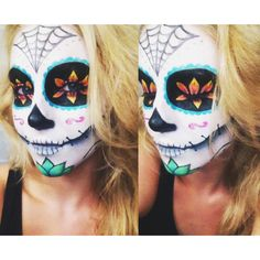 Sugar Skull Tutorial -http://www.youtube.com/watch?v=DmJ15v3UMRI&list=UUVhekdkVuEjXrsyxR8ObiLg