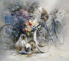 Willem Haenraets ~ Bicycle race