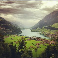 Switzerland #lake #mystic