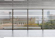 Bürobau in Barcelona von BCQ / Metallvorhang - Architektur und Architekten - News / Meldungen / Nachrichten - BauNetz.de
