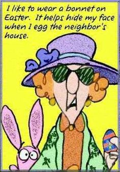 Maxine on Easter Funnies - Maxine Humor - Maxine Humor meme - - Maxine on Easter Funnies The post Maxine on Easter Funnies appeared first on Gag Dad. memes cute Maxine on Easter Funnies funny hilarious Somebunny Loves You, Bad Eggs, Easter Egg Designs, Hoppy Easter, Easter Funny, Easter Jokes, Easter Eggs, My Face When, Aunty Acid
