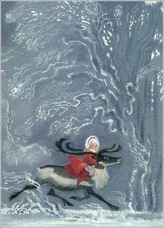 Nika Goltz illustration from 'The Snow Queen' by Hans Christian Andersen Andersen's Fairy Tales, Queen Art, Fairytale Art, Snow Queen, Children's Book Illustration, Illustrations Posters, Fantasy Art, Fantasy Makeup, Wonderland