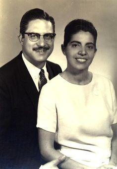 Eunice Michiles e o esposo Itanel Ferraz.