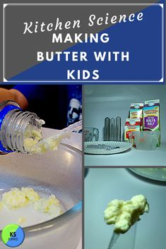 Discover the science of butter with a hands on experiment.  Kids love making butter.  It is a great way to learn about the properties of matter.  Many teachers add it to their Thanksgiving activities.  Find  complete steps and lesson plans. 5th Grade Science Experiments, Fourth Grade Science, Science Fair Projects, Science Activities, Fun Projects, Kitchen Science, Next Generation Science Standards, What Is Science, Thanksgiving Activities