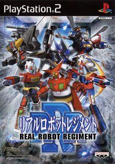 Real Robot Regiment JPN ps2 iso rom download