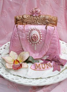 My Mother's birthday cake..... by Anita Jamal, via Flickr