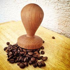 Môj šikovný brat mi urobil tamper k stroju na kávu. Nádhera.   #coffee #tamper #portafilter #diy #tamperdiy #coffeetamper #dobrechute #zdravastrava #kava