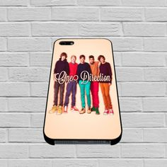 1D One Direction Personnel iphone case - mycovercase