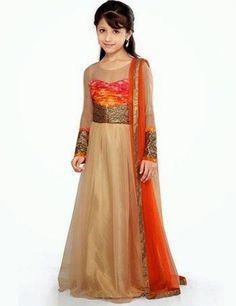 Little-Girls-Baby-Girls-Party-Wedding-Dress-Pakistani-Indian-2016-2017-Frock.jpg (400×519)