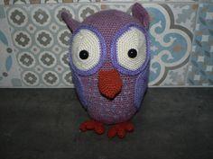 Piu Piu Owl - free crochet pattern at Haak en brei werkjes Sisi.