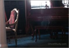 From the Queen Anne Hotel in San Francisco...is some playing the piano?
