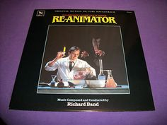 "Re-Animator - Original Soundtrack - 12"" 33 RPM Vinyl LP - Varese Sarabande 81261"