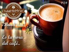 Que estén teniendo un fabuloso sábado por cierto... BUEN DÍA... YA ES LA HORA DEL CAFÉ! LES ESPERAMOS!  #Káapehtería #TeHaceElDía #ConsumeLocal #Cafetería #Café #Alimentos #Postres #Pasteles #Panes #Cancún #Chetumal #México