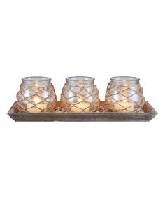 Look at this Pescatore Candleholder Set on #zulily today!
