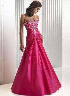 robe de soirée orientale bustier avec des cristaux