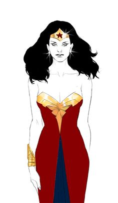 Wonder Woman by AXE...someone make me this dress!!!
